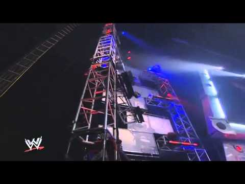 WWE Classic Clips - Jeff Hardy Swanton Bomb On Randy Orton From 30 Feet In the Air