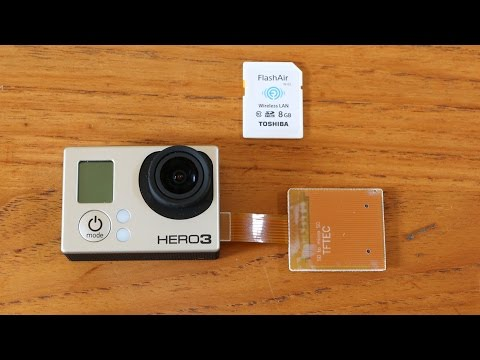 Howto use Wifi SD cards with GoPro Hero 3/3+ cameras (e.g. FlashAir cards)