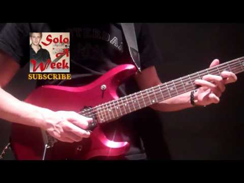 Afterlife Guitar Solo and Lesson - SoloAWeek 18 - Solo A Week 18
