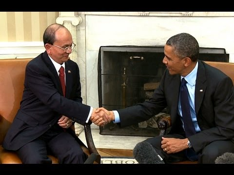 President Obama's Bilateral Meeting with President Thein Sein of Myanmar   (white house)