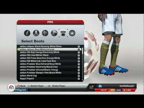 FIFA 13 | New Boots &amp; Traits