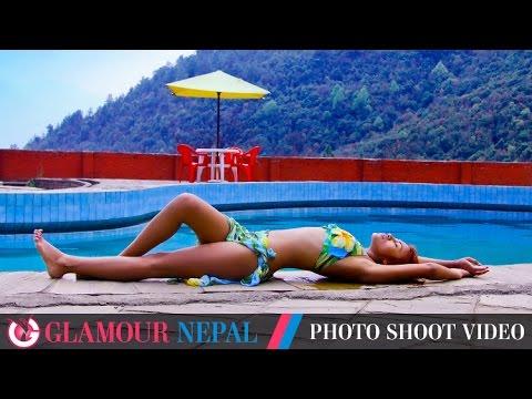 Model Sony Khadka's Photo Shoot Video
