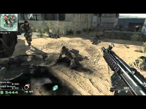 Call of Duty: Modern Warfare 3 Survival: Dome 3 Gameplay (Multi-platform)