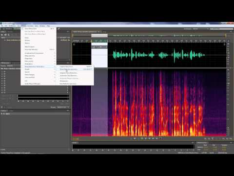 Adobe Audition - Noise Reduction -aKEQW7wOA3g