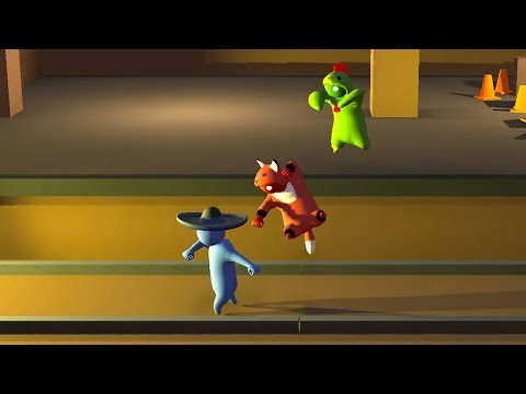8 Player Madness in Gang Beasts! - The Lobby - UCbu2SsF-Or3Rsn3NxqODImw