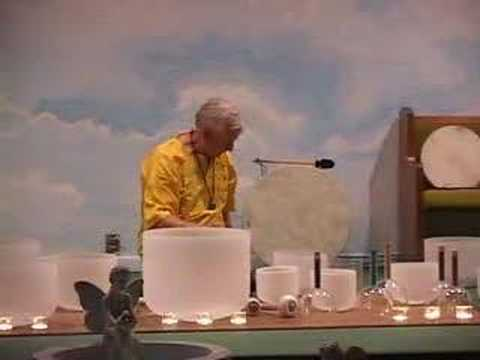 Robert Austin Crystal Bowl Sound Healer