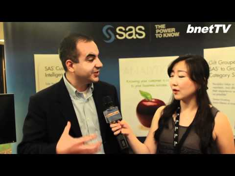 bnetTV독점취재 CRM Evolution2011 인터뷰 SAS New York Hilton Hotel