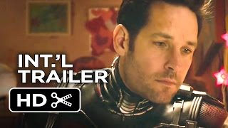 Ant-Man Official Japanese Trailer #1 (2015) - Paul Rudd, Evangeline Lilly Marvel Movie HD