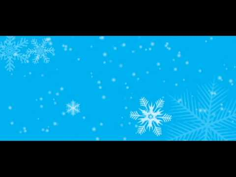 Snow Falling free HD motion background loop