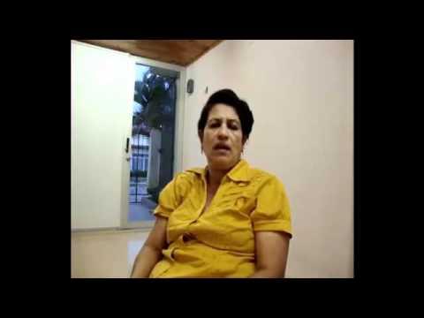 Testimonio de Guillermina Rodriguez con Fitoplancton Marino