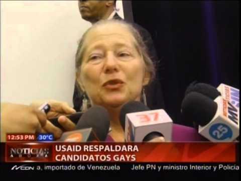 Declaraciones de la USAID respaldará candidatos gays