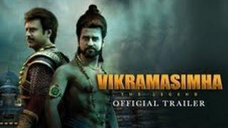 Vikramasimha - Official Trailer ft. Rajinikanth, Deepika Padukone