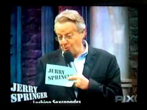 Jerry springer show lesbian affair part 1