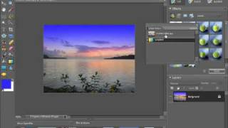 Photoshop Elements 7 Tutorial Creating gradients