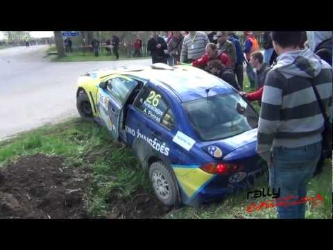 Crash @ Rally Talsi 2012