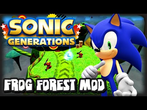 Sonic Generations PC - Frog Forest Level Mod w/Unleashed Sonic