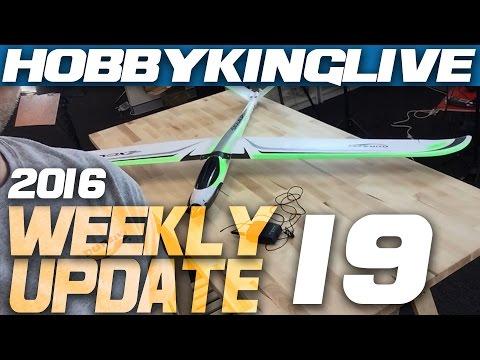 Weekly Update Ep.19 - HobbyKing Live - UCkNMDHVq-_6aJEh2uRBbRmw