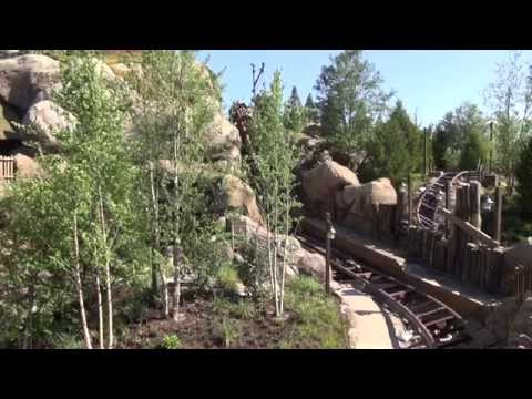 Seven Dwarfs Mine Train commercial shoot