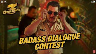 Dabangg3: Badass Dialogue Contest
