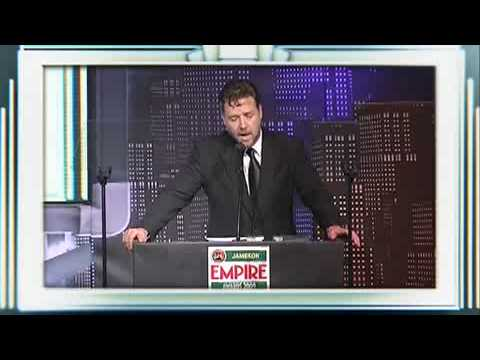 Jameson Empire Awards 2009: Actor Of Our Lifetime - Russell Crowe