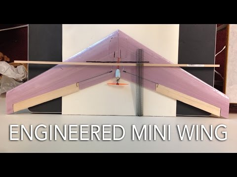 Engineered Mini Flying Wing - UCcIbMAd5E6cOaJRuIliW9Lw