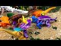 Фрагмент с начала видео - ЛЕГО Динозавры мультики для детей. Ти-Рекс схвачен–2 серия: Новая генерация Ерлифозавр Птерофаганакс