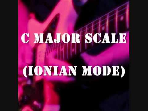 C Major Scale (Ionian Mode) - Groovy Uptempo Backing Track (Free mp3!)