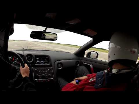 Corvette ZR1 vs 2012 Nissan GTR - 1 Mile Drag Race - Race The Base 2012
