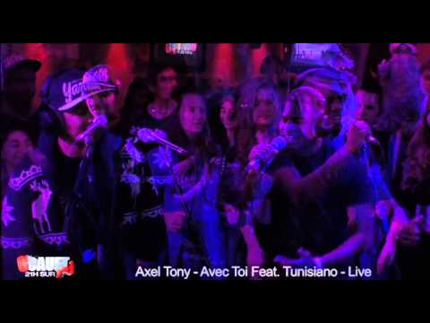 Axel Tony - Avec Toi Feat. Tunisiano - Live - C'Cauet sur NRJ