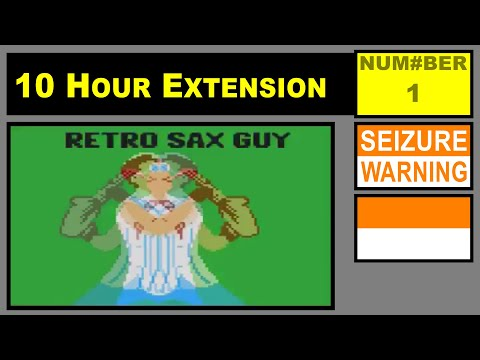 Retro Sax Guy (Epic Sax Guy 8-bit Remix) [10 Hour Extension]