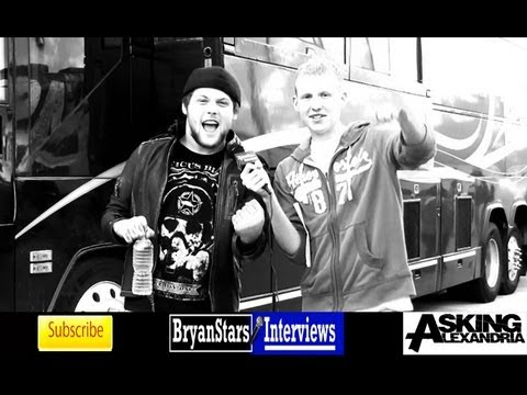 Asking Alexandria Interview #2 Danny Worsnop &amp; Ben Bruce 2012 (Behind The Scenes)
