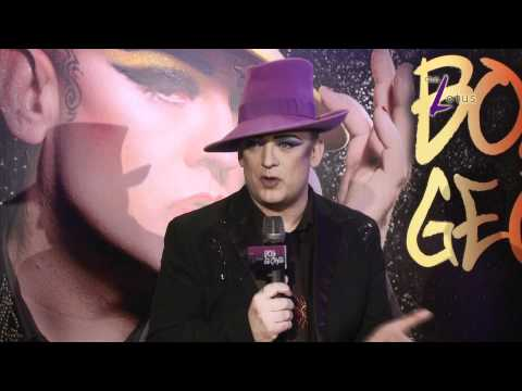 Boy George Live in Macau press conference