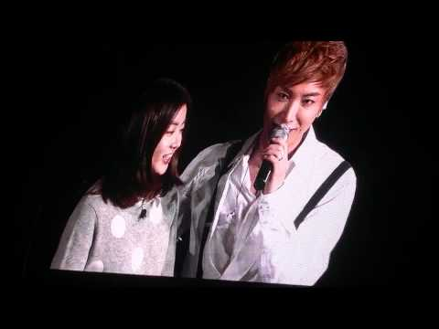 112011 SS4 Seoul - Leeteuk Solo with Kang Sora