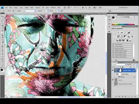 Photoshop CS4 - Displacement Map Tutorial