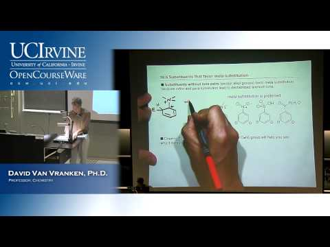 Chem 51B. Organic Chemistry. Lec. 25: Electrophilic Aromatic Substitution, Part 2