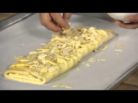 Danish Pastry Braid With Almonds : Wild Flour