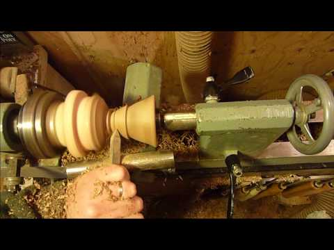 Wood Turning Projects Turning A Mini Birdhouse On The Lathe 2 OF 2