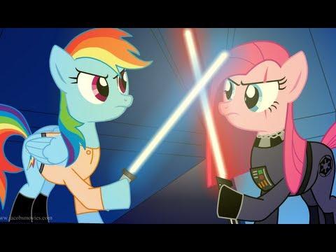 Star Wars Re-enacted by Ponies