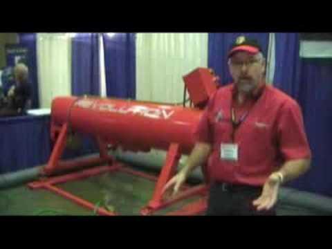 Area rug cleaning equipment - Rug Revolution EL Centrifuge