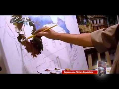 video aula - passo a passo  (segredos da pintura espatulada)