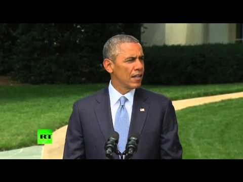 Obama accuses rebels in (Ukraine) of tampering with evidence at MH17 crash site