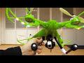 Фрагмент с конца видео - Квадрокоптер JJRC H26W обзор и пробный запуск!