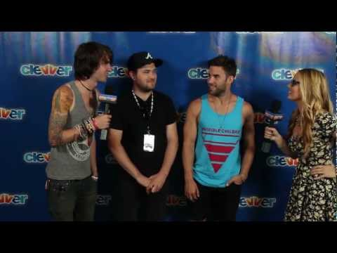 Mayday Parade Interview 2012 Vans Warped Tour