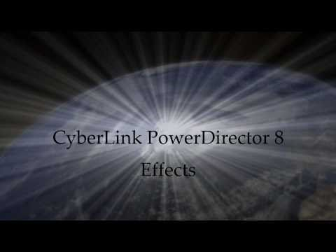 CyberLink PowerDirector 8 Ultra Effects