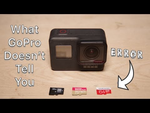 How To Fix SD Card Error On GoPro | Camcorder | DSLR
