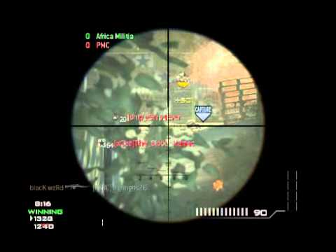 blacK_wzRd - MW3 Game Clip -acg4zxSvjxE