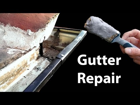 Aluminium Gutter Repair - Stop Leaky Guttering - UCJHLqwsRD4NEXzvNkY4Gm-A