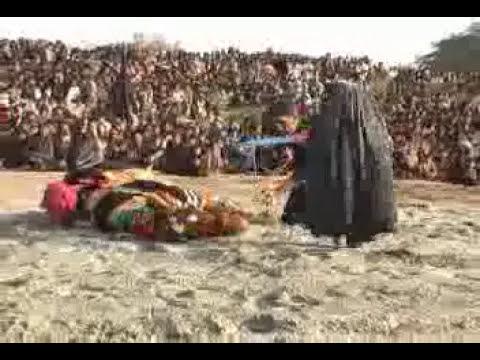 10 Muharram zuljinah scene in Pakki Shah Mardan(Mianwali) by Mehtab Naqvi