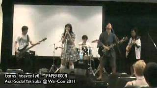 tommy heavenly6 – PAPERMOON Live at Wai-Con 2011 ライブバンド Soul Eater Cover
