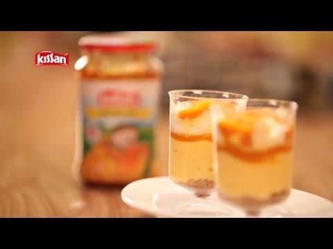 Kissan No Bake Mango Cheesecake